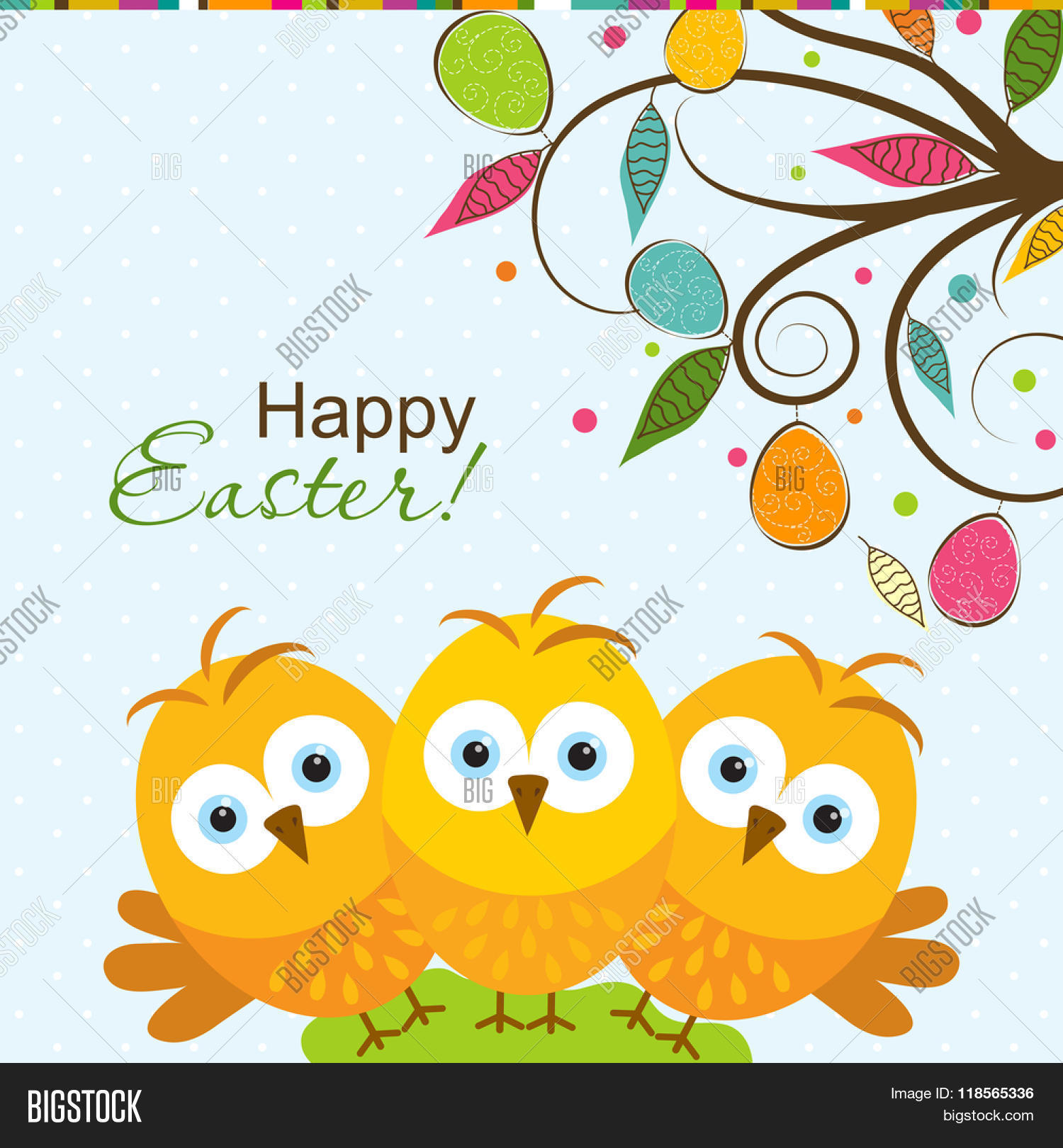 Template Easter Vector Photo Free Trial Bigstock