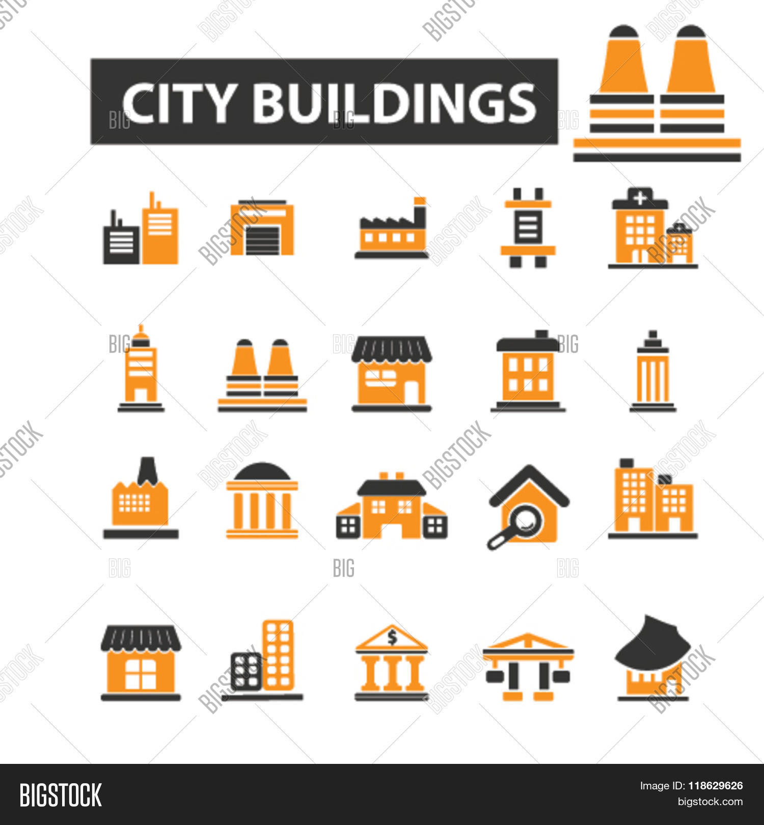City icons city logo building vector photo bigstock city icons city logo building icons vector building flat illustration concept building biocorpaavc Image collections