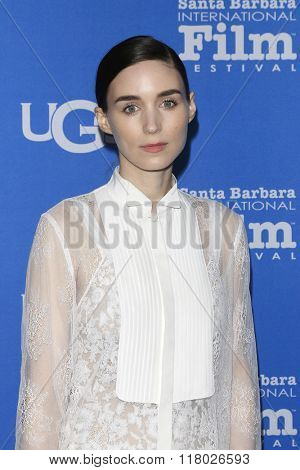 SANTA BARBARA - FEB 12:  Rooney Mara at the 31st Santa Barbara International Film Festival - Cinema Vanguard Award on February 12, 2016 in Santa Barbara, California
