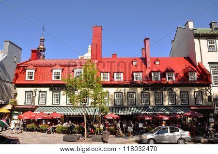 Restaurant 1640, Quebec City, Canada