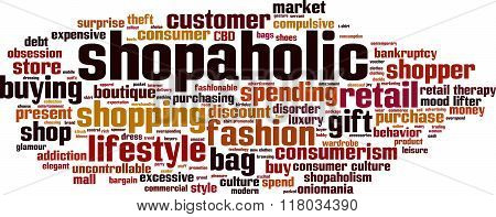 Shopaholic Word Cloud