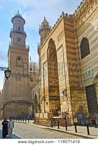 The Holy Places In Al-muizz Street