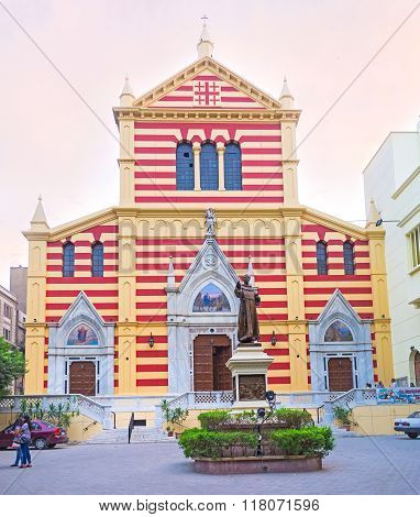 Saint Joseph Cathedral Of The Franciscan Padres