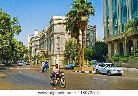 The European Quarter In Cairo