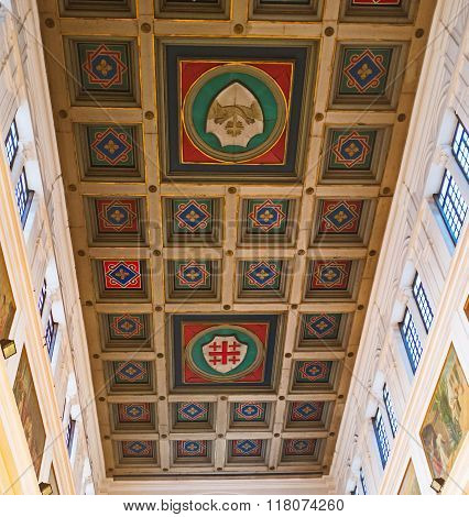 Shields On The Ceiling