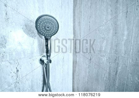 Handshower In The Bathroom.