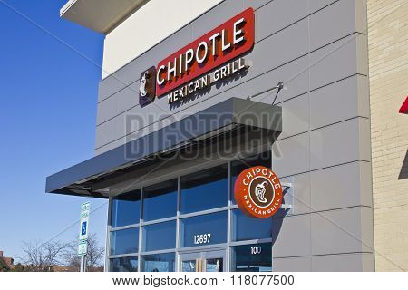Indianapolis - Circa February 2016: Chipotle Mexican Grill Restaurant III