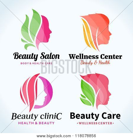 Beauty Salon Logo, Icons And Design Elements