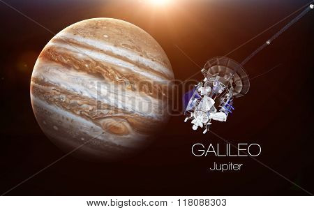 Jupiter - Galileo spacecraft. This image elements furnished by NASA.