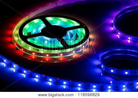 Color LED strip, led tape