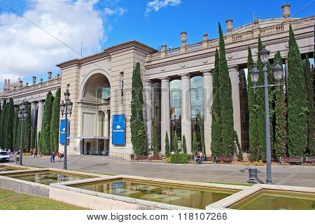 Barcelona Fira Montjuic Hall Of Conferences, Spain