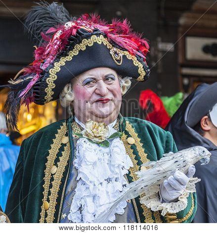 Medieval Nobleman - Venice Carnival 2014