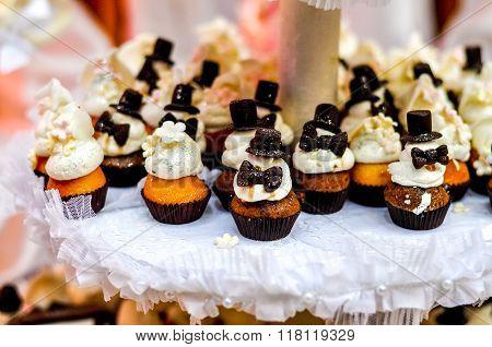 Wedding Party Cupcakes