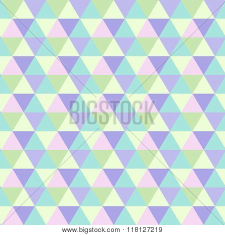 romb pattern triangle texture violet turquise green
