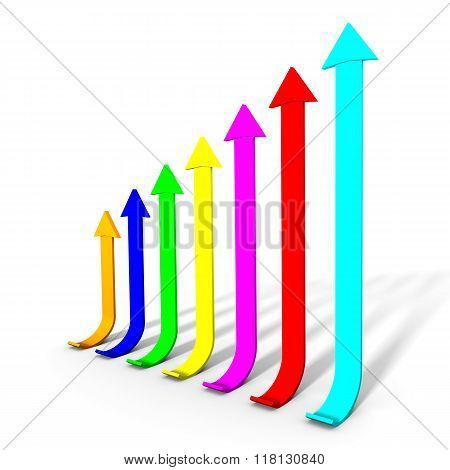 Color chart bars
