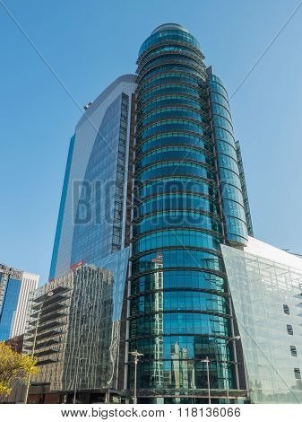 El Corte Ingles Modern Glass Building