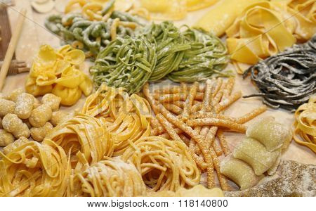 Spaghetti Homemade And Other Size Fresh Pasta