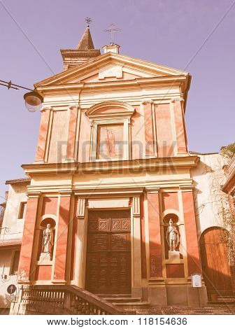 Santa Croce Church, Rivoli Vintage