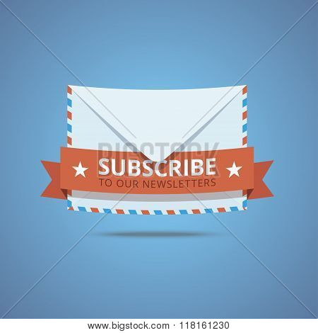Subscribe to our newsletter illustration.