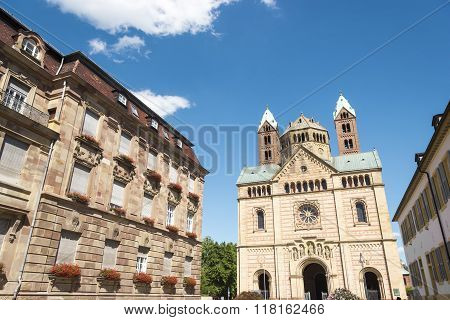 The Kaiserdom At Speyer Germany In Summer