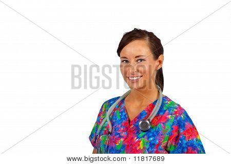 Pretty medical professional