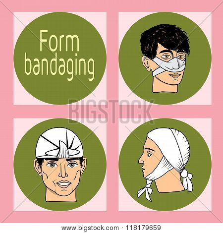 Designation of injury, fracture, contusion.