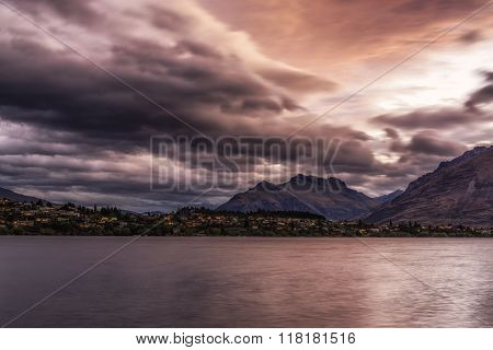 Storm Over Lake Wakatipu