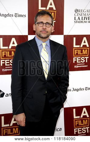 Steve Carell at the 2012 Los Angeles Film Festival premiere of