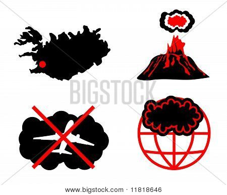 Cloud Of Volcanic Ash