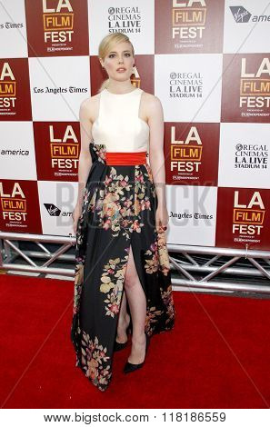 Gillian Jacobs at the 2012 Los Angeles Film Festival premiere of