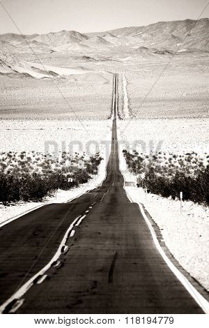 Road to Death Valley Junction