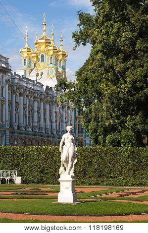 Katherine's Palace in Tsarskoe Selo