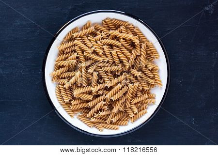 raw wholewheat pasta