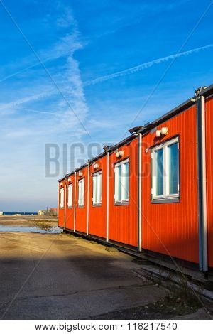 Conventional Shipping Containers Housing