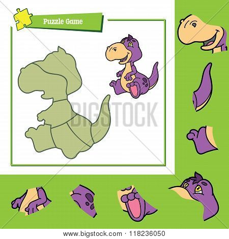 Puzzle game dino