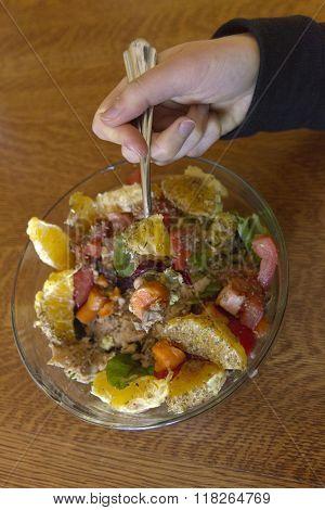 Colorfully Creative Salad Feast