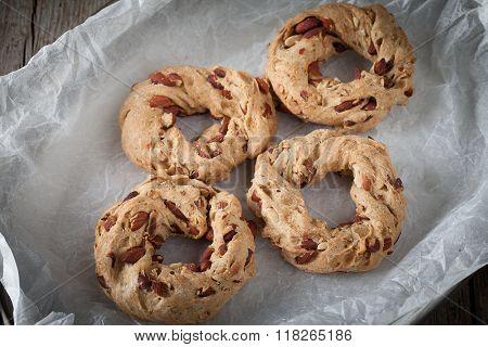 Tray With Taralli Cookies