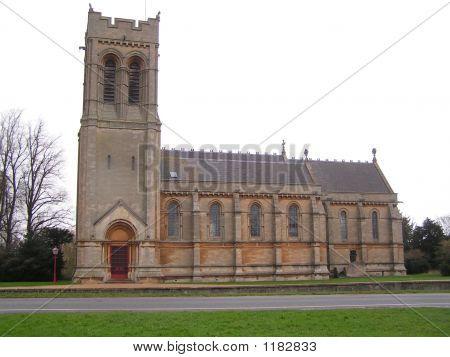 St Marys Church 1868  Woburn Bedfordshire