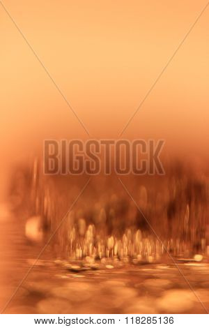 Blurred Gold Background