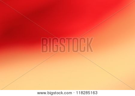 Blurred Red And Cream Background