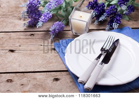 Summer Table Setting.