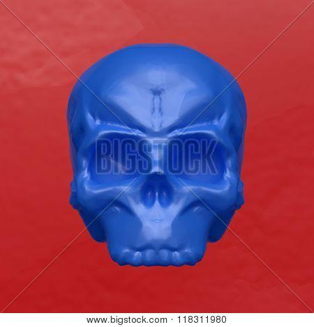 Plasticine Skull
