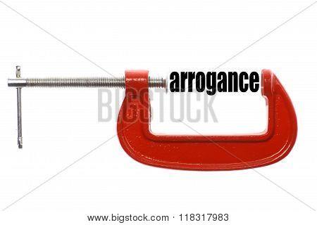 Compressed Arrogance Concept