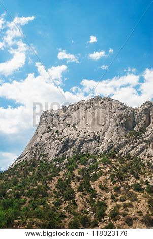 Mountain Against The Sky
