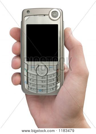 Mobile Phone In Hand