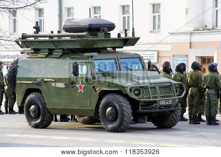 Victory Day 2014 In Yekaterinburg, Russia