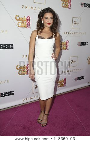 LOS ANGELES - FEB 14:  Danielle Campbell at the Primary Wave 10th Annual Pre-GRAMMY Party at the London West Hollywood on February 14, 2016 in West Hollywood, CA