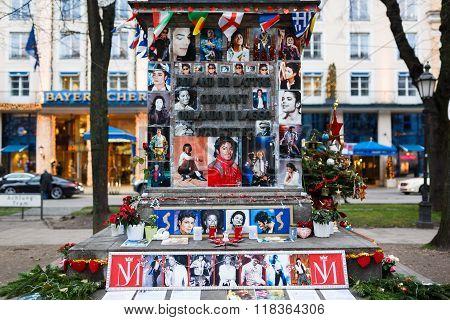 Memorial Of Michael Jackson In Munich