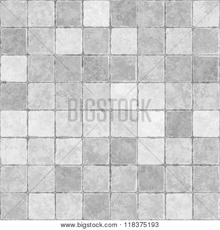 Texture of tile seamless background