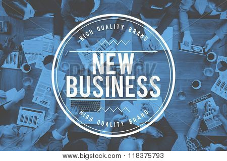 New Business Entrepreneurship Start up Planning Concept